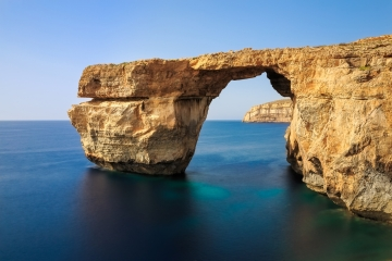 The Azure Window - obviously a stock photo I found on Google images.